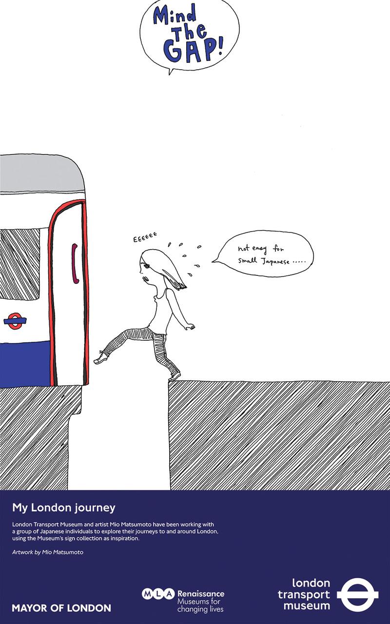 London Transport Museum Poster   mio.matsumoto