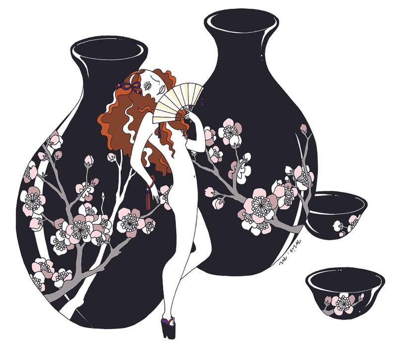 VOGUE JAPAN Alcohol & Beauty | mio.matsumoto