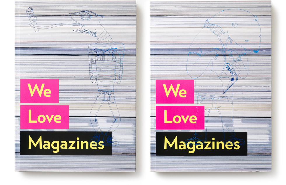 We Love Magazines Colophon Main Visual |  mio.matsumoto