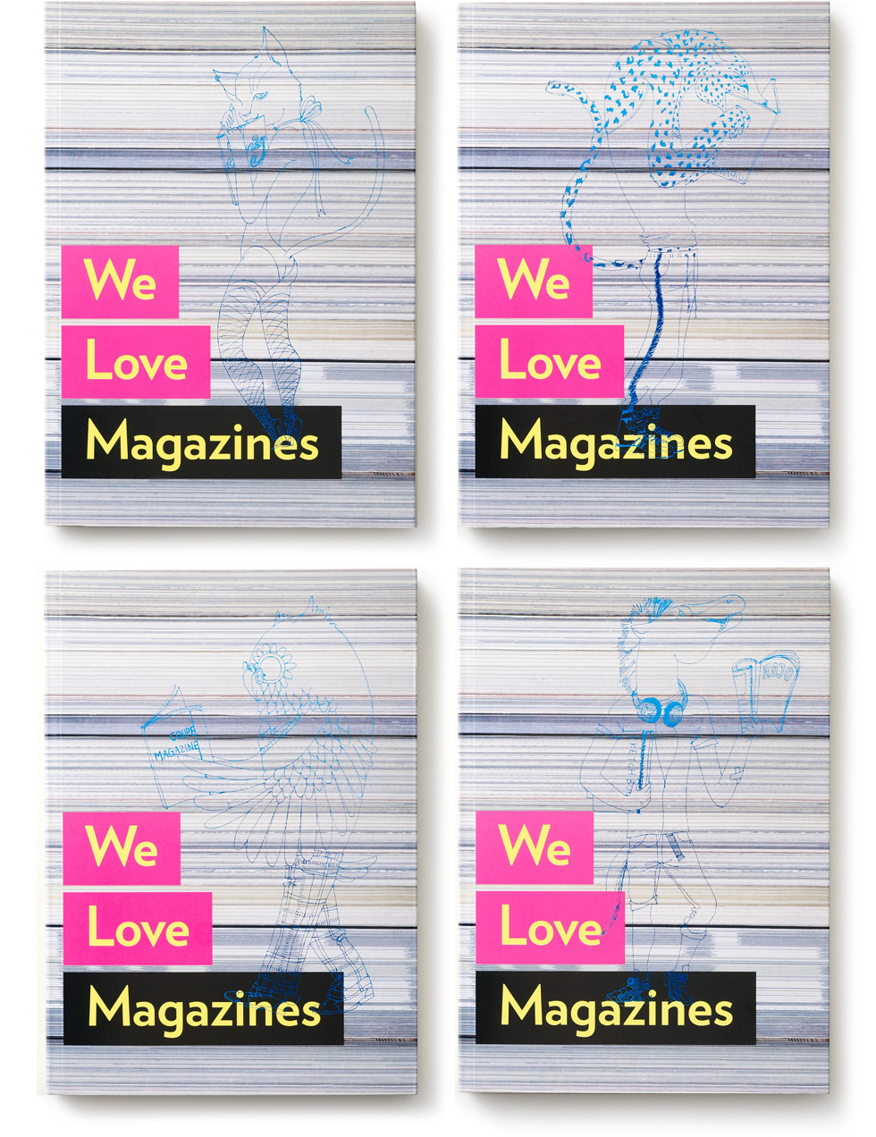 We Love Magazines Colophon Main Visual |  mio.matsumoto