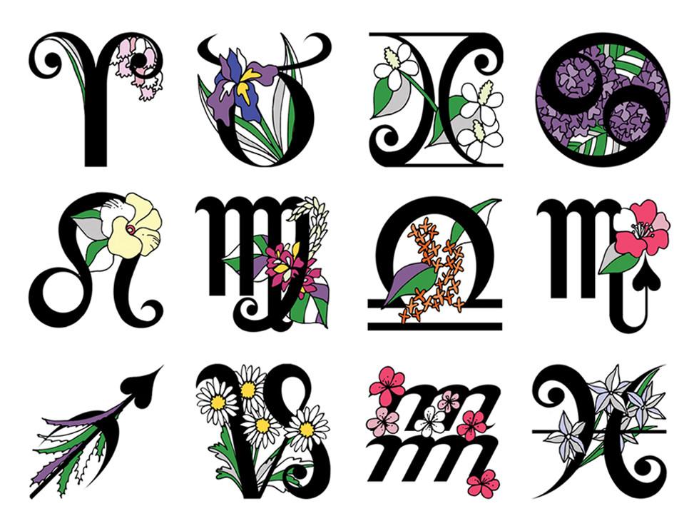 GINGER magazine Monthly horoscope 2009~2014 | mio.matsumoto
