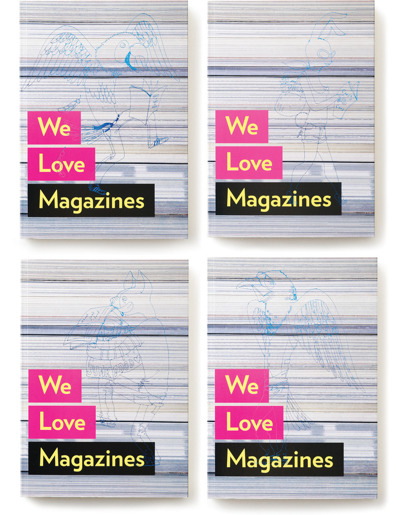 We Love Magazines Colophon Main Visual    mio.matsumoto