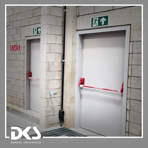 Barra Push Simples -DKS