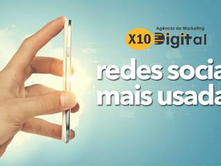 As 10 redes sociais mais usadas no Brasil