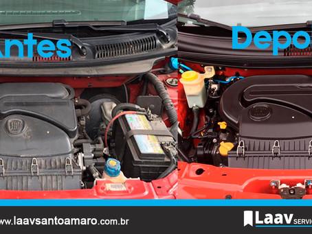 Por que é importante manter o motor limpo?