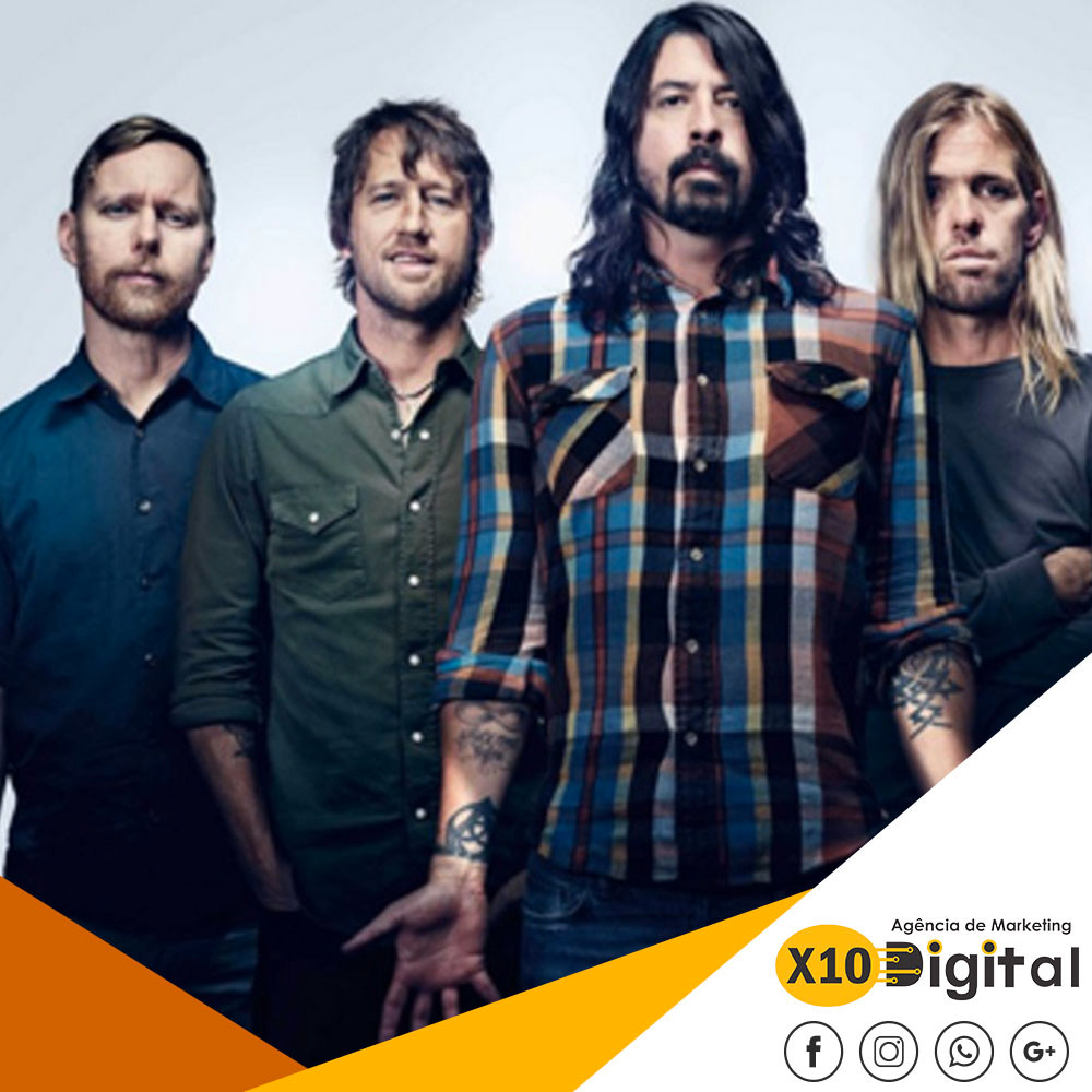 Foo Fighters Marketing