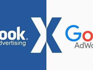 Facebook Ads ou Google Adwords: qual é o melhor para seu negócio?