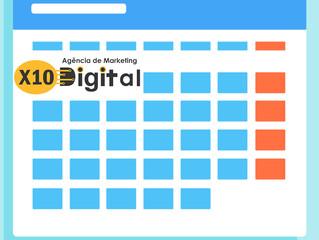A importância do calendário editorial no Marketing de Conteúdo.