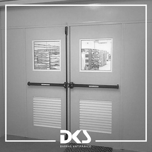 Application Iron Door with Visor - DKS
