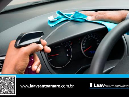 Coronavírus: Cuidados importante com a limpeza do carro, além da oxi-sanitização