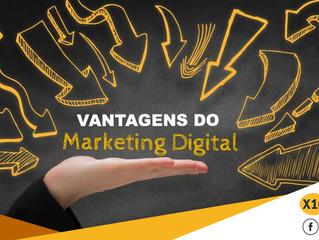 Quais as vantagens do Marketing Digital?