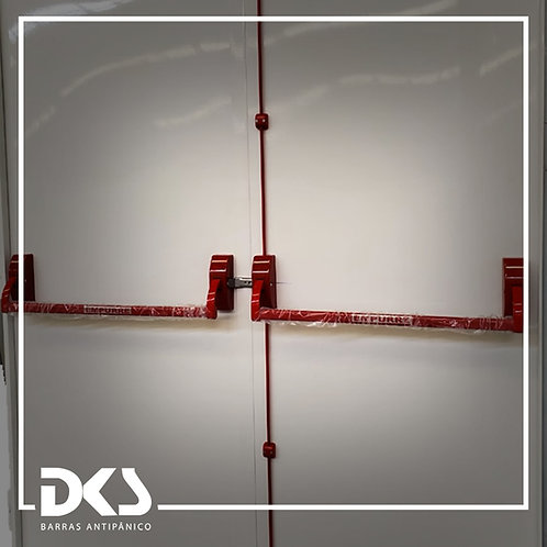 Barra Antipânico Push Dupla - DKS
