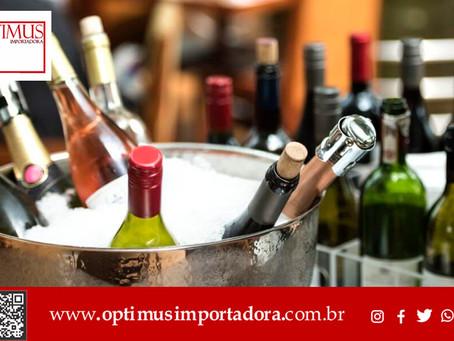 Qual a temperatura ideal para o vinho?