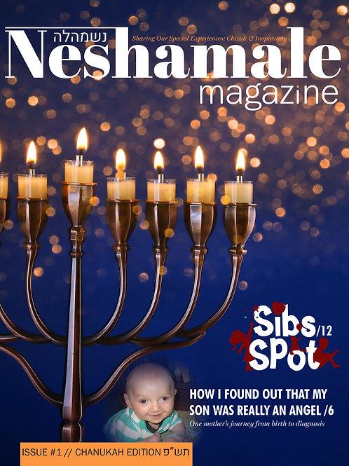 Neshamale Magazine - Issue #1 - Chanukah 5780
