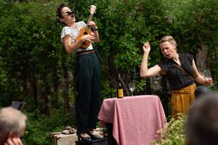 """Ticket to ride"" - en konsertforestilling.  Foto: Christina Aakervik"