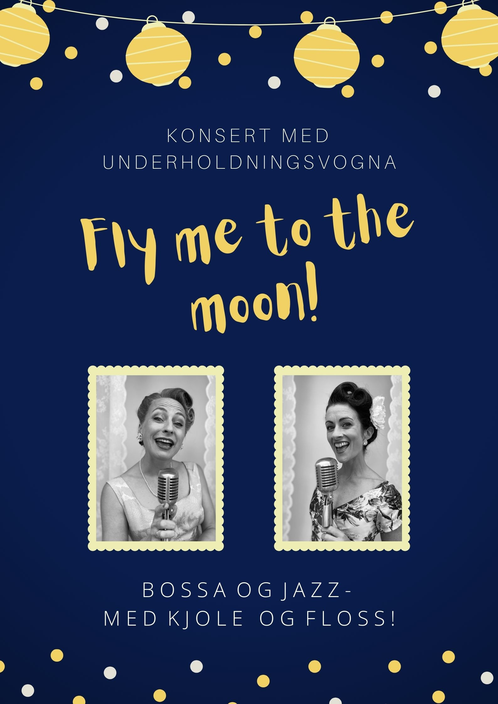 Fly me to the moon - spesialtilbud!