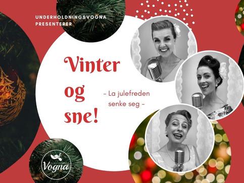"""""""Vinter og sne!"""""""