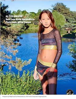 Alessandra Liu All Eyes Magazine Back Co