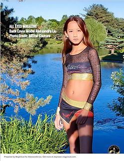 Alessandra Liu All Eyes Magazine Back Co