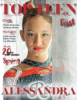 Top Teen Magazine Alessandra Liu 1 Cover