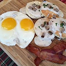 2 Biscuit and Gravy Breakfast