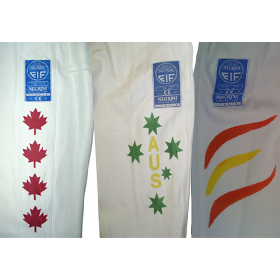 Extra Charge for Printing of National Colours (2nd colour onwards)
