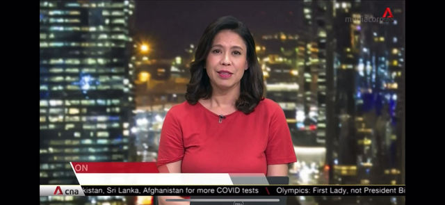 Channel News Asia: Game on Mask On