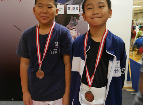 FENCING SINGAPORE MINIME FENCING CHALLENGE 2018