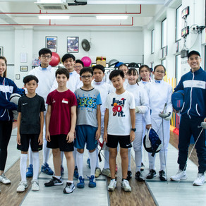 Local Insights by Game On Singapore - Fencing Partners On and Off the Piste