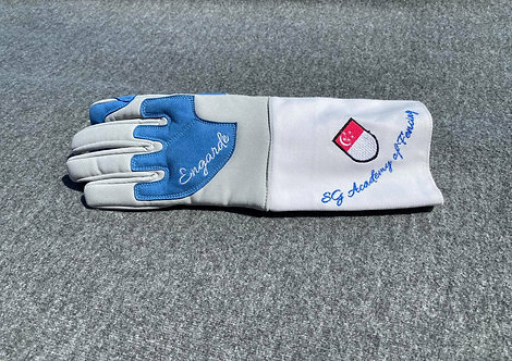 "SGF ""Elite"" Fencing Glove - Blue"