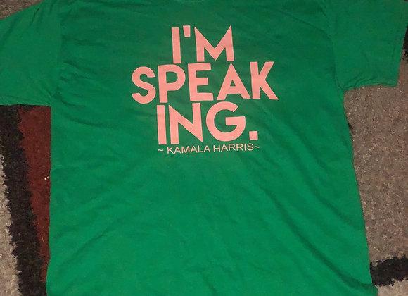 I'm Speaking  (plus)