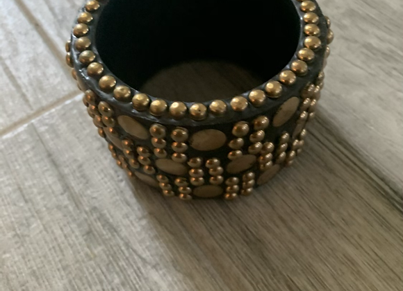 Gold studded