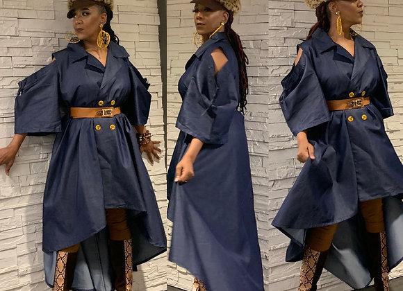 Denim Duo Dress/Top