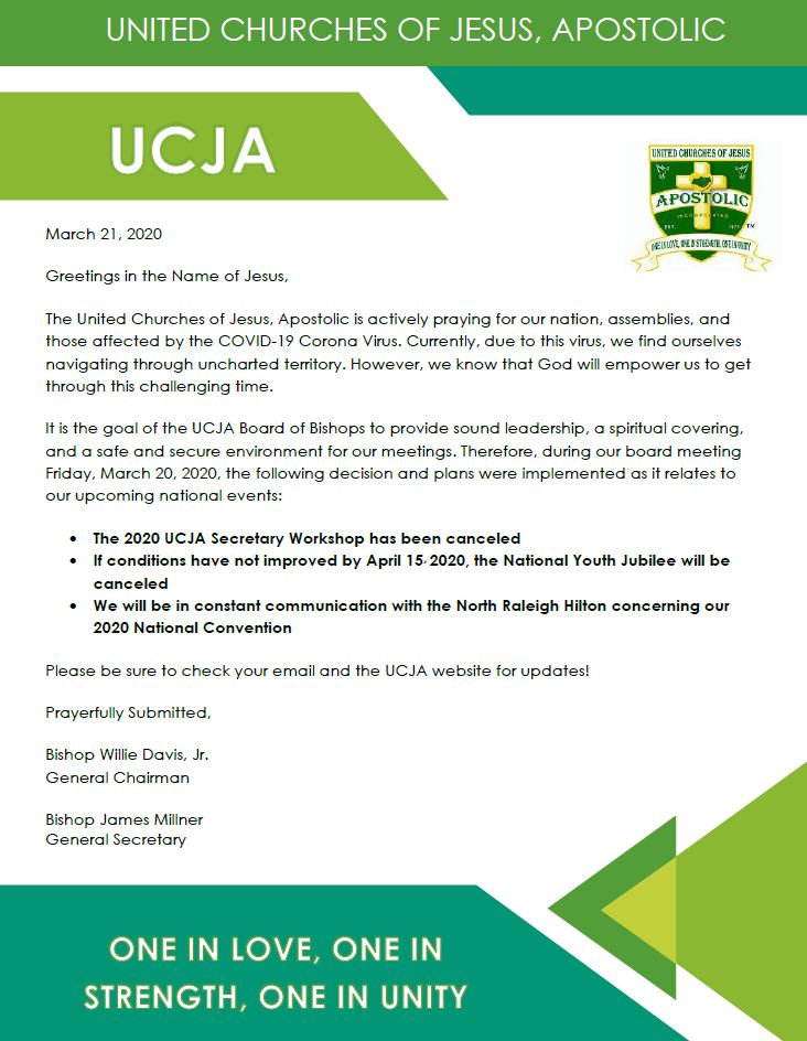 UCJA Important Announcement- 3-22-2020.J