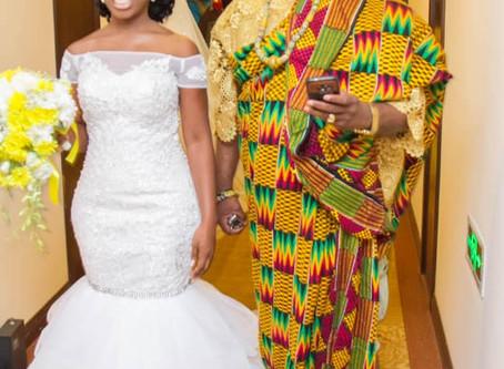 Mamle Adulai Walks Down the Aisle.