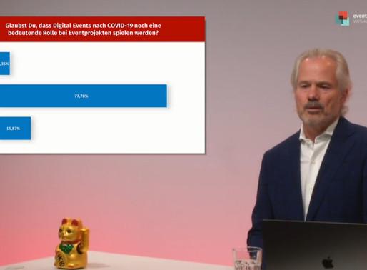 Erstes digitale Event Manager Forum ein voller Erfolg