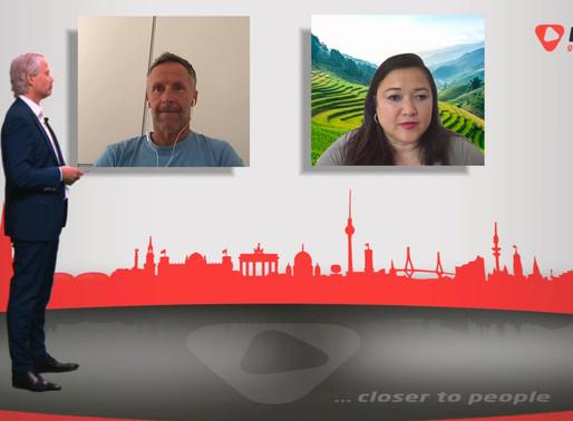 BEEFTEA lädt zum digitalen Kunden Talk ein