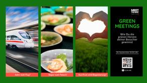Wie Sie die grünen Herzen Ihrer Teilnehmer gewinnen können