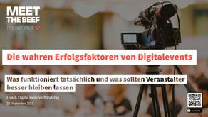 Die wirklichen Erfolgsfaktoren von Digitalevents – Ein Erfahrungsbericht für Event Organisatoren