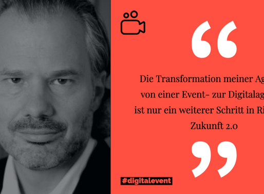 Hallo Digital, goodbye analoger Event - Die Zukunft digitaler Events gehört uns!