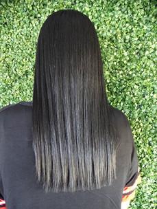 Black hair always has the best shine!_-_
