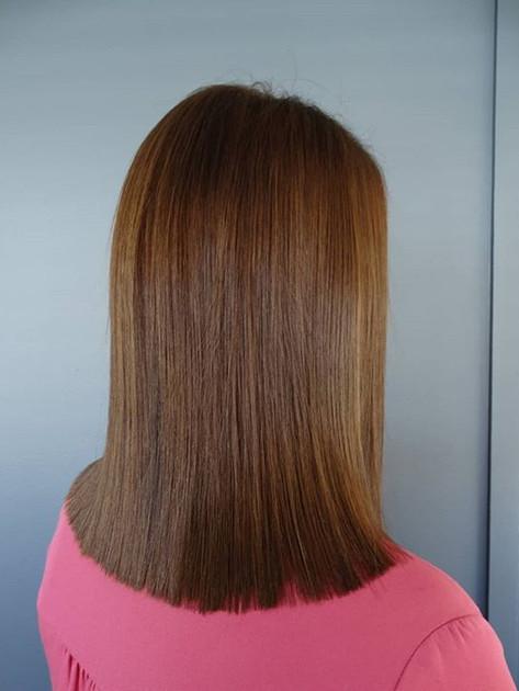 Copper to chestnut 💙_-before____#brunet