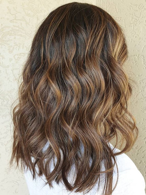 We lightened up the ends a little more t