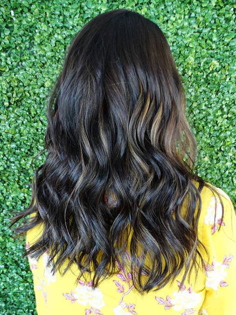 Softened this beautiful brunette with so