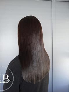That shine!! Swipe for before!_-_#brunet