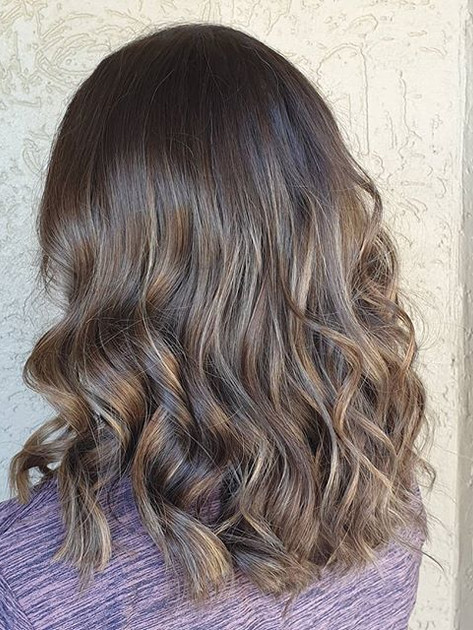 That oh so subtle balayage 😍_I love how