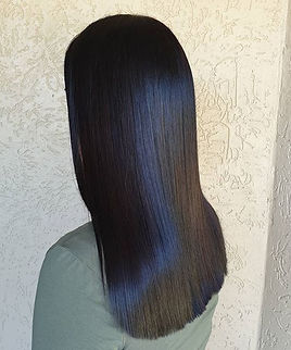 How shiny is this rich beautiful chocolate brown!_ 🌟🌟_-_#brownhair #brunettehair #brunet