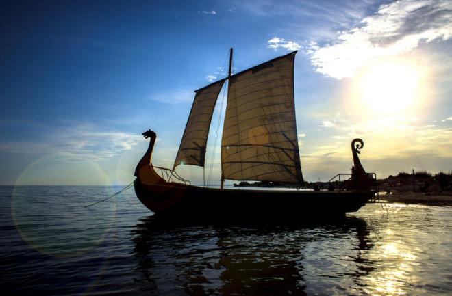 Navio viking: uma maravilha da engenharia do Mundo Antigo.