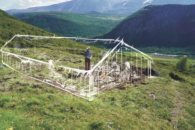 Degelo expõe segredos vikings na Noruega