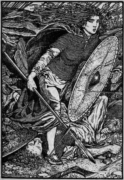 Lagertha, a esposa do conquistador Ragnar Lodbrok / Crédito: Wikimedia Commons